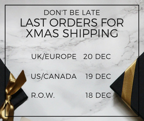 Christmas Gift Shopping Deadlines