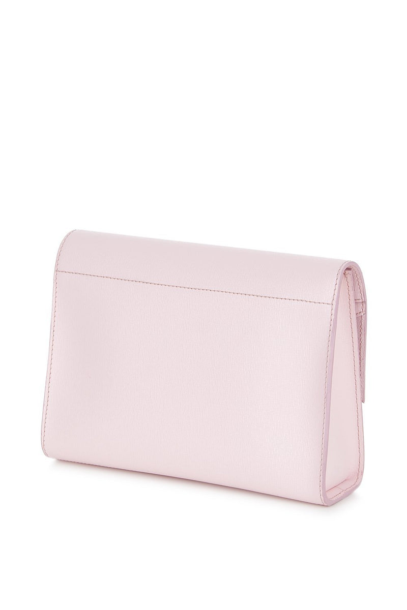 Pink Italian Leather Cross Body - Designer Stacy Chan