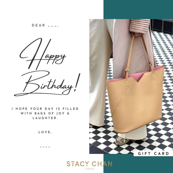 Gift Card - Italian Leather Beige Nude Tote Bag