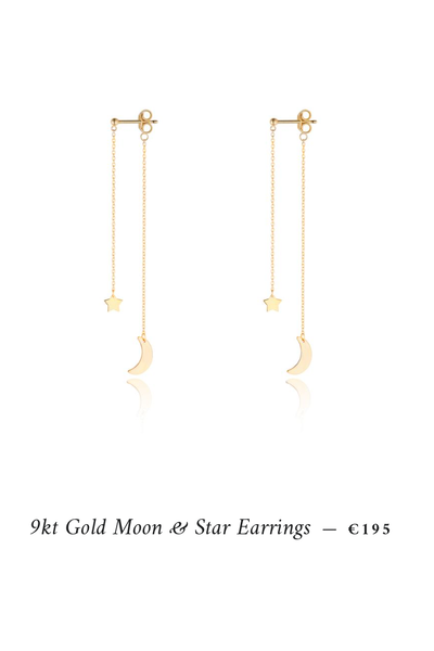star and moon drops