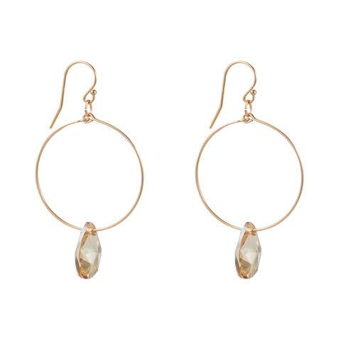 14kt Gold Filled Teardrop Small Hoops