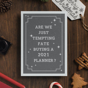 Simple Things 'Are We Just Tempting Fate Buying A 2021 Planner'