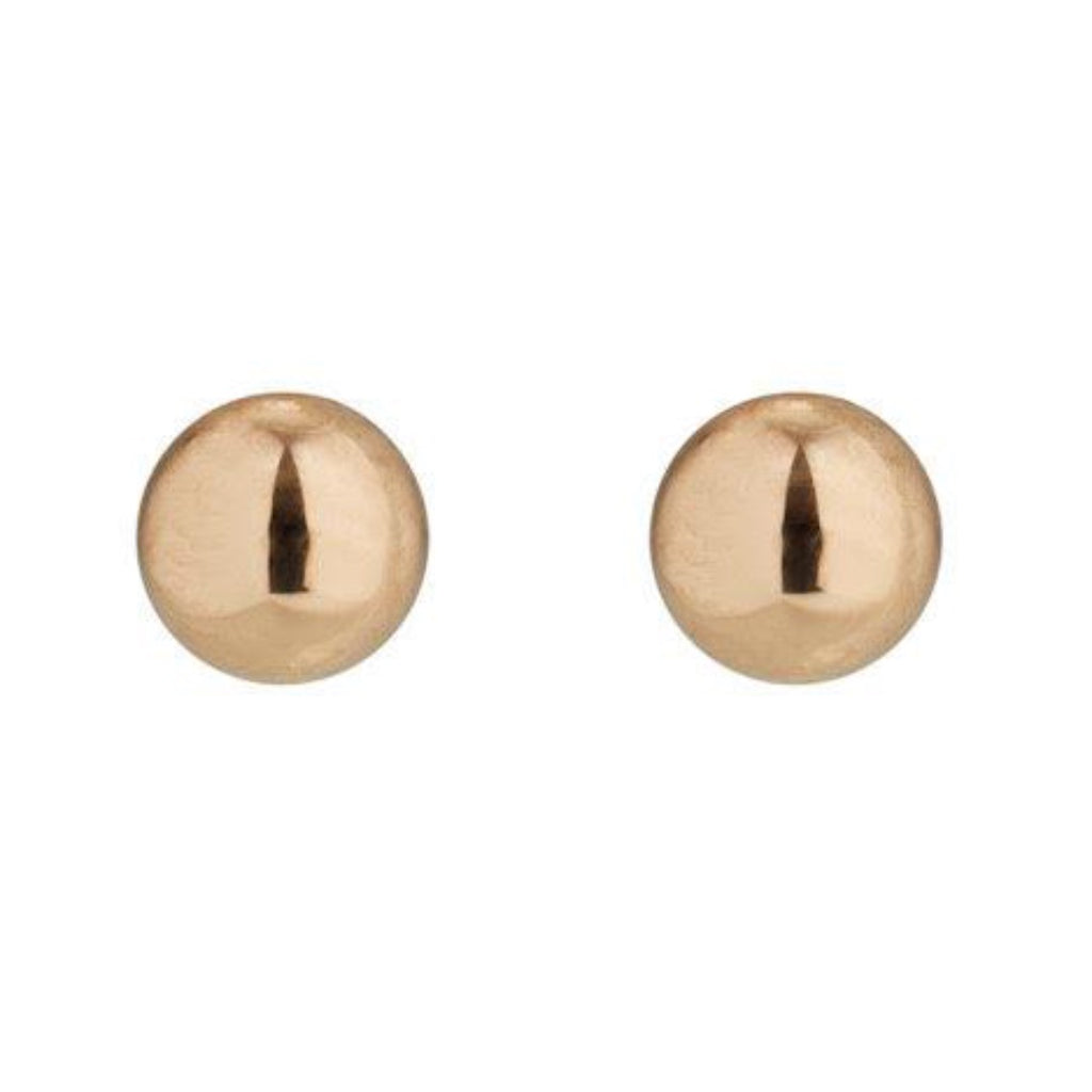 9kt Gold Ball Studs - 3mm