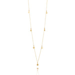 Load image into Gallery viewer, 9kt Gold Seven Star Necklace - MoMuse Jewellery