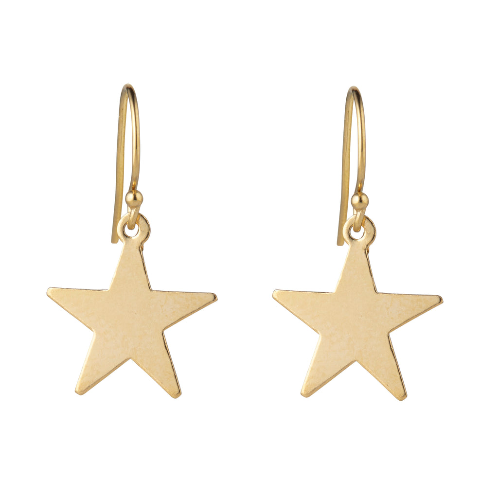 14kt Star Gold Filled Earrings - MoMuse Jewellery