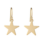 Load image into Gallery viewer, 14kt Star Gold Filled Earrings - MoMuse Jewellery
