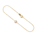 Load image into Gallery viewer, 9kt Gold Freshwater Pearl Bracelet - MoMuse Jewellery