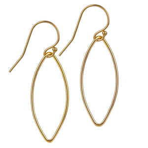 14kt Gold Filled Oval Earrings