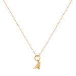 Load image into Gallery viewer, 9kt Gold Bird Pendant - MoMuse Jewellery