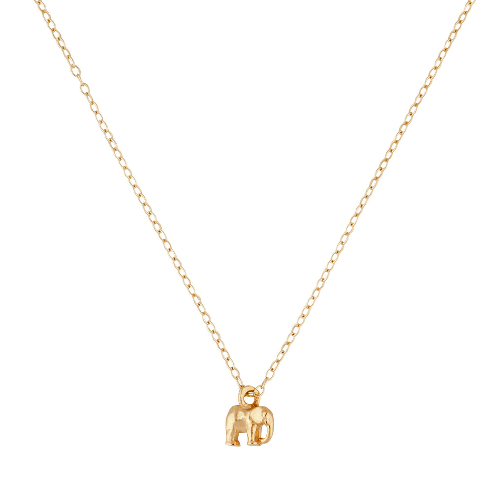 9ct gold elephant pendant fine jewellery collection momuse 9kt gold elephant necklace aloadofball Gallery