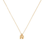 Load image into Gallery viewer, 9kt Gold Elephant Necklace - MoMuse Jewellery