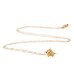 Load image into Gallery viewer, 9kt Gold Hedgehog Necklace - MoMuse Jewellery