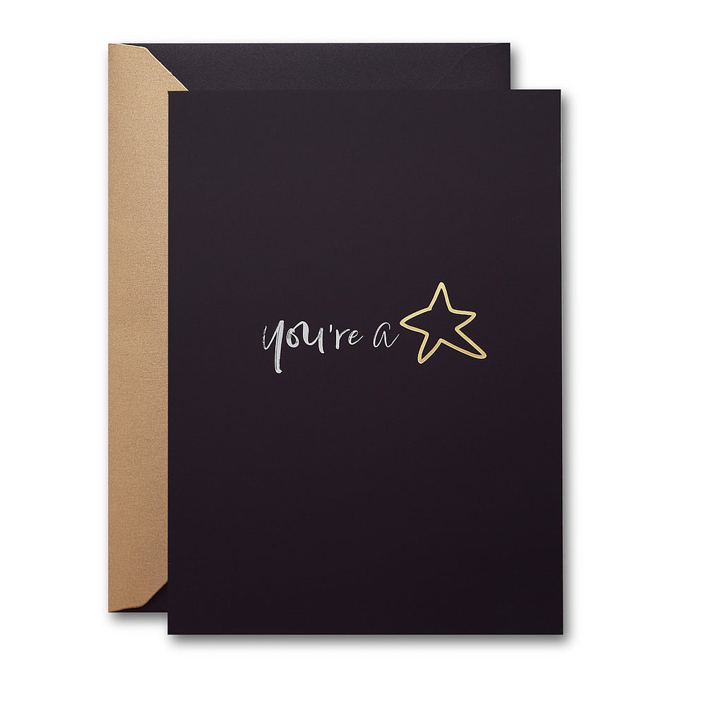 'You're a Star' Card - MoMuse Jewellery