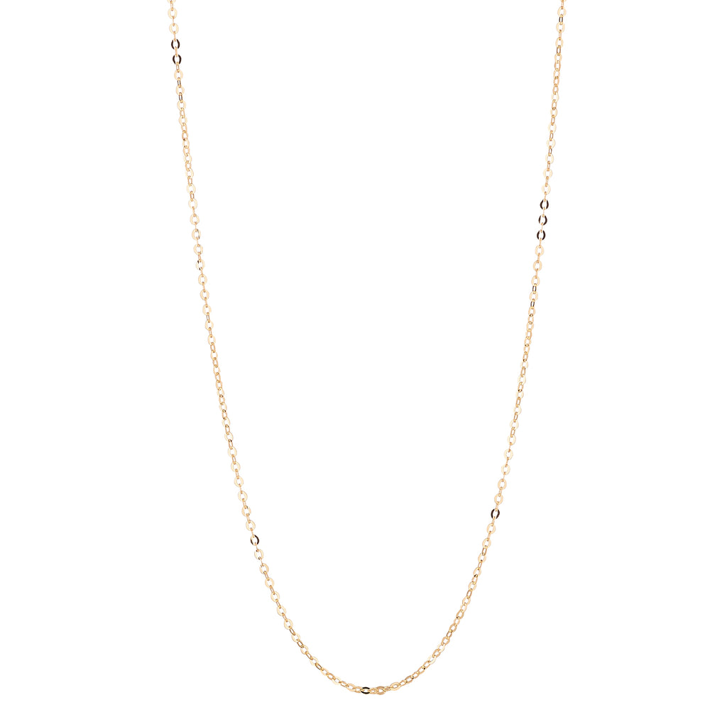 9kt Gold Diamond Cut Chain - MoMuse Jewellery