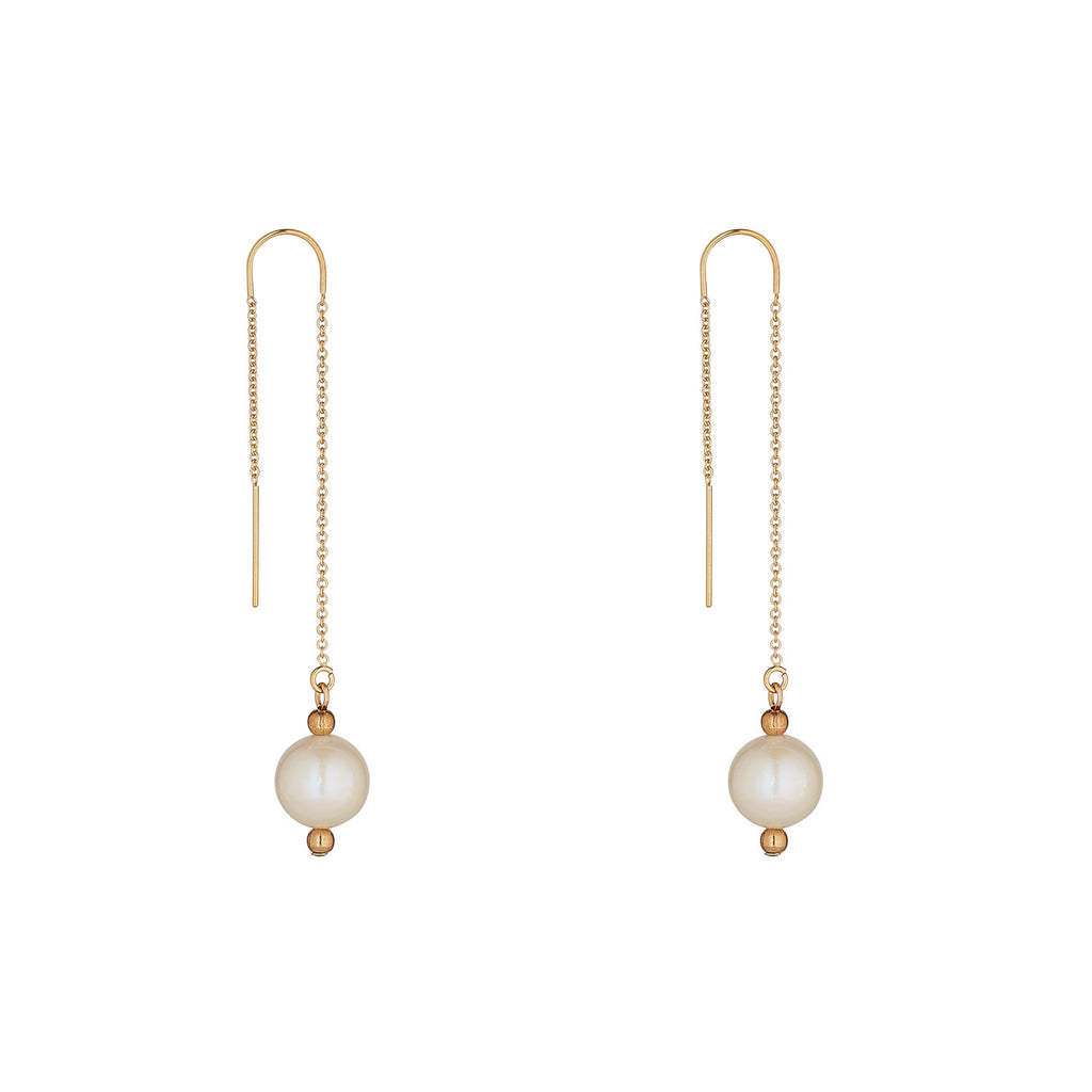 14kt Gold Filled Pearl Threader - MoMuse Jewellery