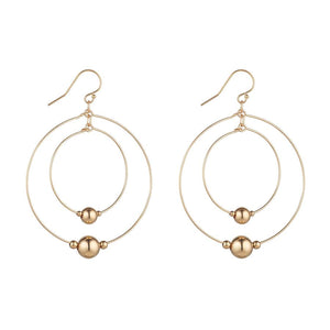 14kt Gold Filled Double Hoops