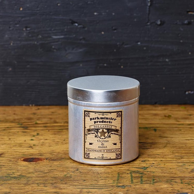 Parkminster Natural Soy Candles Tin - MoMuse Jewellery
