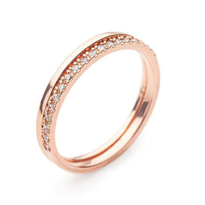 9kt Gold White Diamond Ring - MoMuse Jewellery