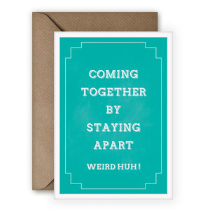 Simple Things 'Coming Together' Card - MoMuse Jewellery