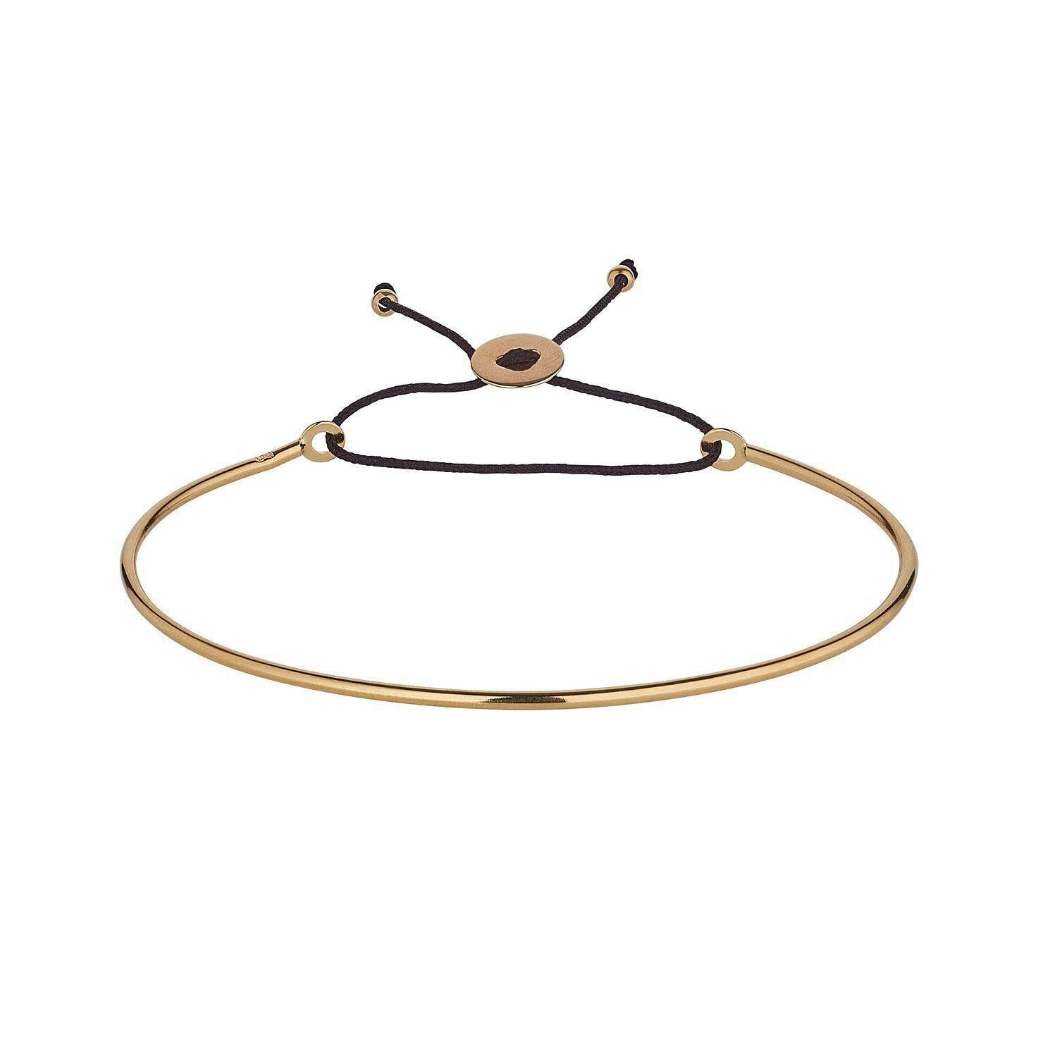 9kt Yellow Gold Cord Bangle