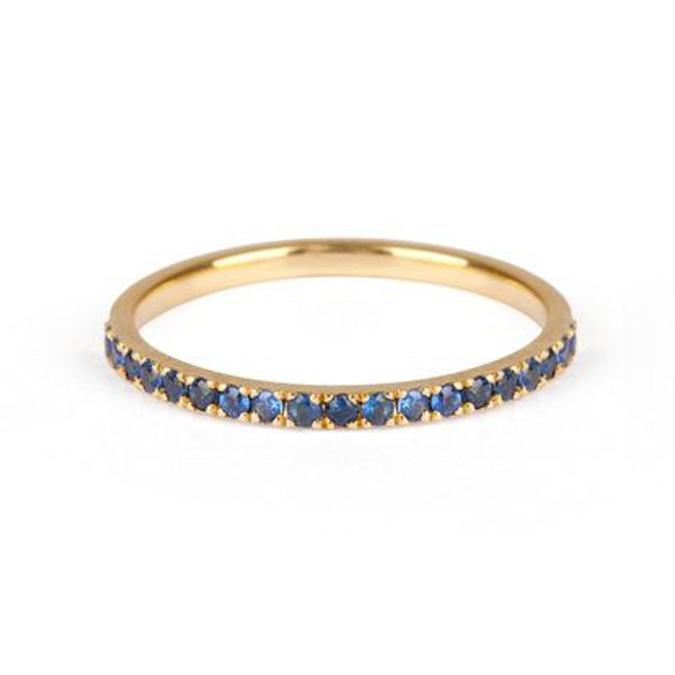 9kt Gold Sapphire Ring - MoMuse Jewellery