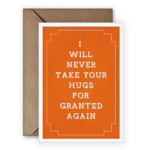 Simple Things 'Hugs For Granted' Card - MoMuse Jewellery