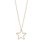 Load image into Gallery viewer, Gold Filled Large Star Pendant