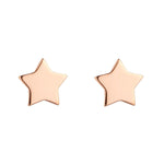 Load image into Gallery viewer, 9kt Gold Star Stud Earrings