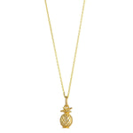 Load image into Gallery viewer, 9kt Gold Pineapple Pendant - MoMuse Jewellery
