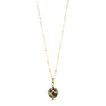 Load image into Gallery viewer, 14kt Gold Filled Petite Dalmation Jasper Necklace - MoMuse Jewellery