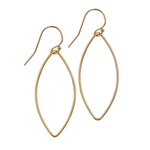 Load image into Gallery viewer, 14kt Gold Filled Oval Earrings