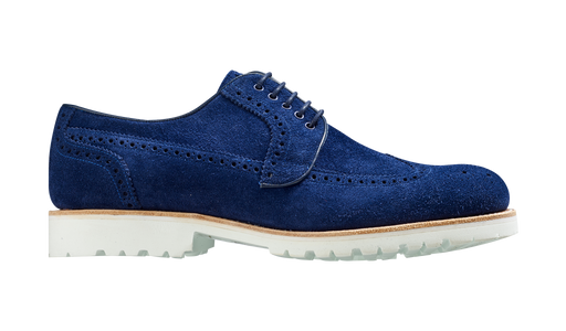 Hawk – Navy Suede
