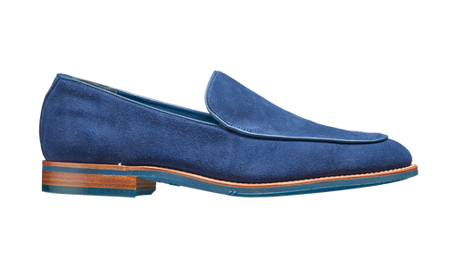 Toledo - Pacific Blue Suede