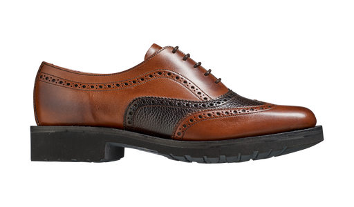 Josie – Walnut Calf / Brown Grain
