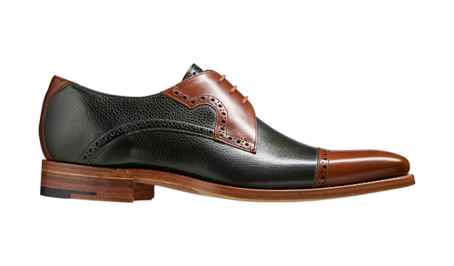 Ashton – Green Grain / Walnut Calf