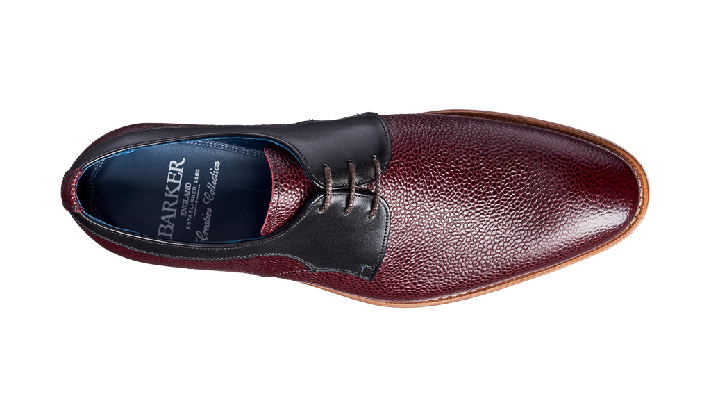 Benedict – Burgundy Grain / Black Calf