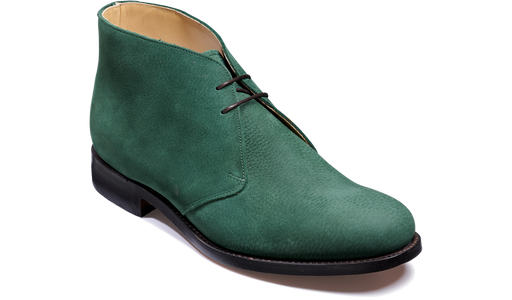 Connor - Green Nubuck