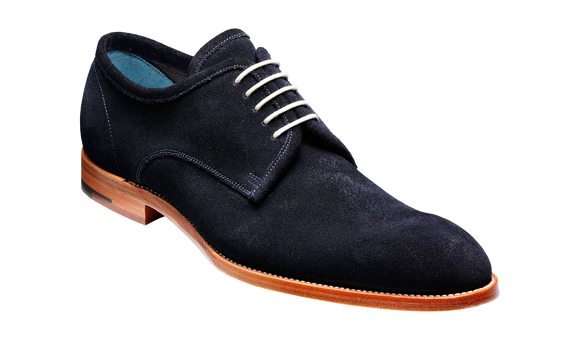 Edwards - Navy Suede