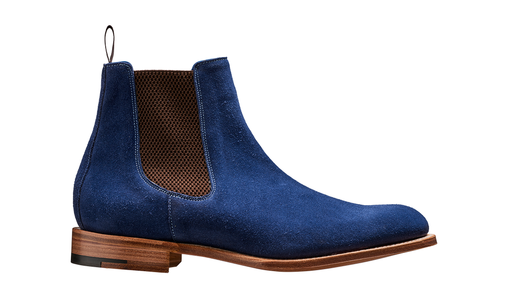Fletton - Navy Suede