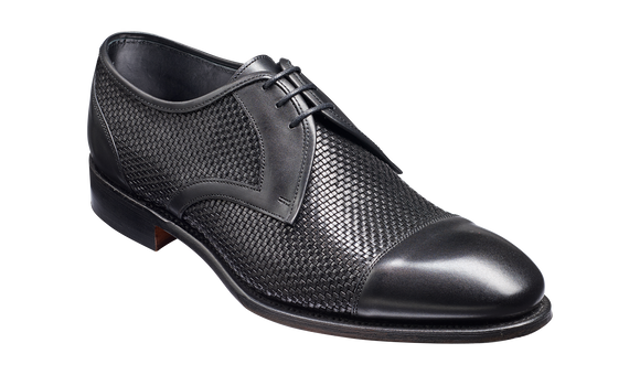 Hartford – Black Weave / Calf