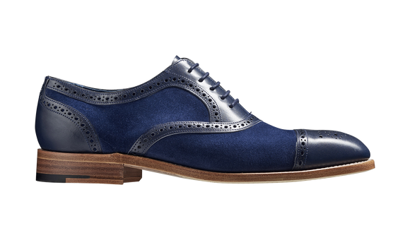 Hursley - Blue Calf / Blue Suede