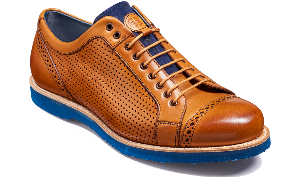 Miami - Cedar Calf Perforated