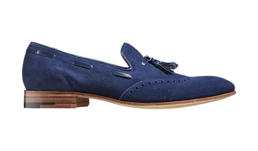 Ray – Navy Suede / Calf