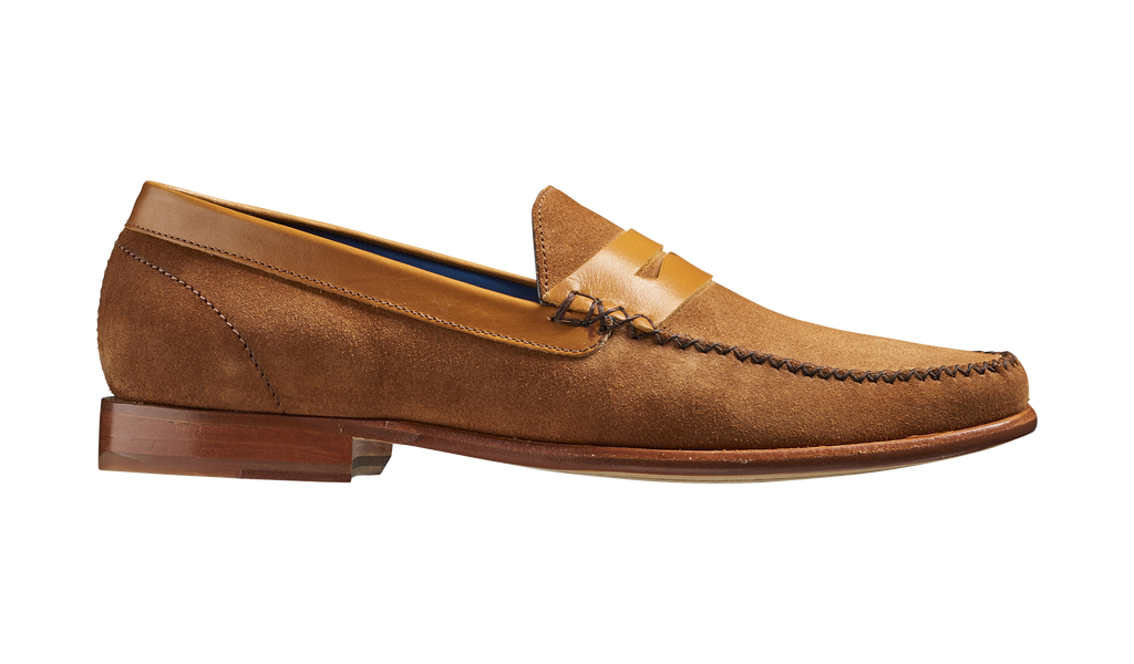 William - Camel Suede / Cedar Calf