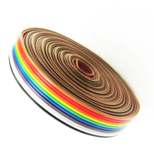 1m - Flat multicolor wire ribbon for PCB