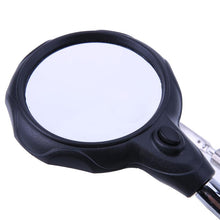 Load image into Gallery viewer, Welding magnifying glass with LED light