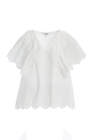 Crosby Kimmie Top - White