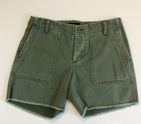 Le Superbe Army Green Shorts