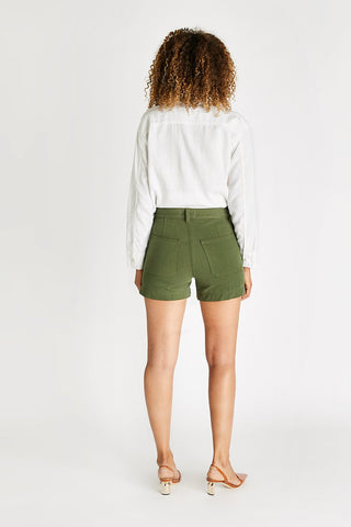 Ética Aria Trouser Short - Forest Night