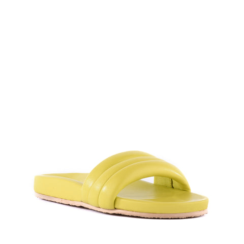 Seychelles Low Key Slide - Yellow